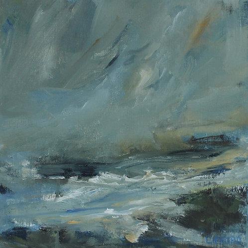 Rosemary Gifford  | Choppy Sea North Antrim Coast