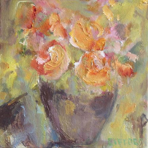 Rosemary Gifford  | Orange Roses