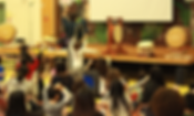 Teaching taiko to kids in Toronto