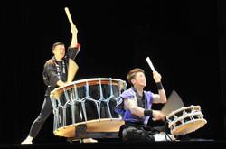 taiko performance in Japan