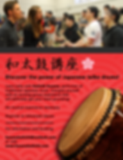 Learning taiko in Toronto