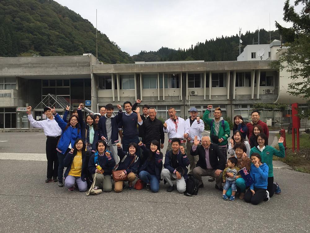 Kokichi with Otari Daiko, October 4 departing for New Zealand
