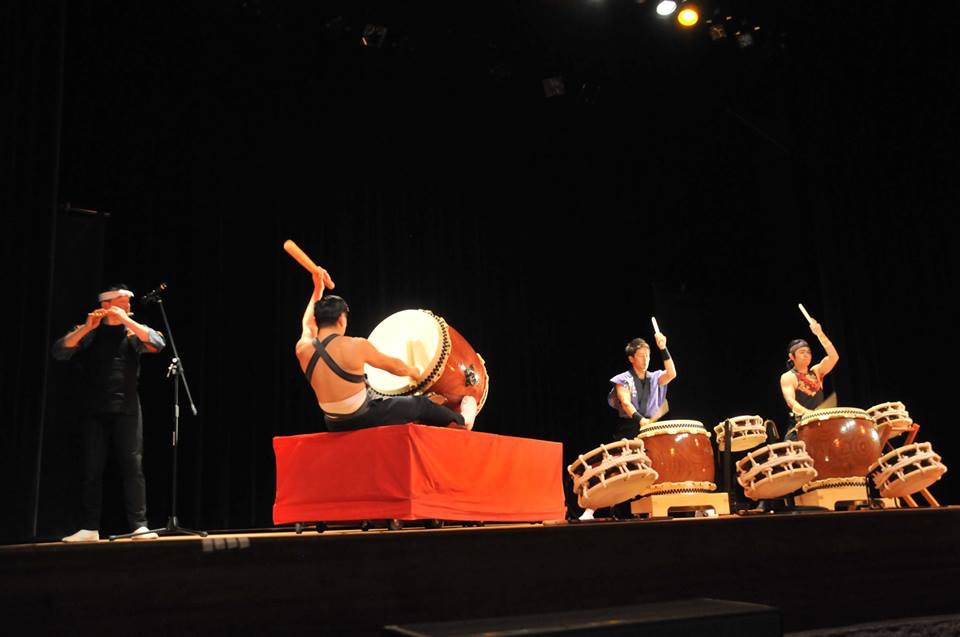Taiko performance in Japan