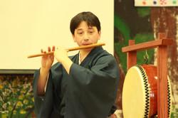 Shinobue demonstration