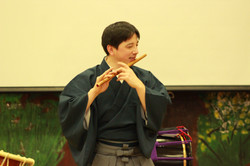 Teaching Japanese flute in Toronto