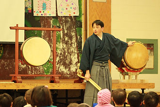 Teaching taiko in Toronto