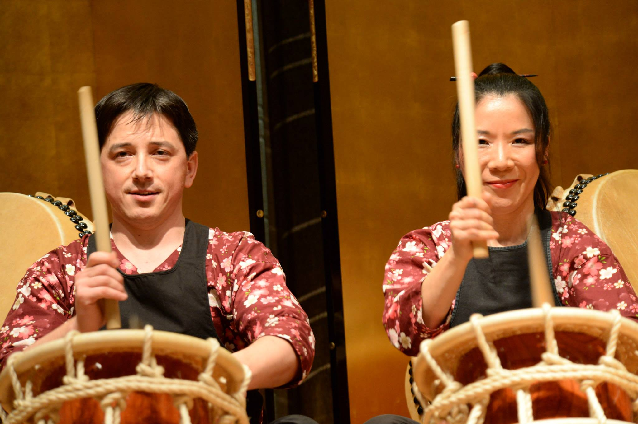 Taiko performance in Ottawa