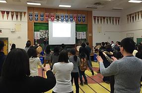 Teaching taiko to adults in Toronto