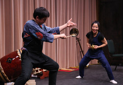 Taiko performance in Ottawa