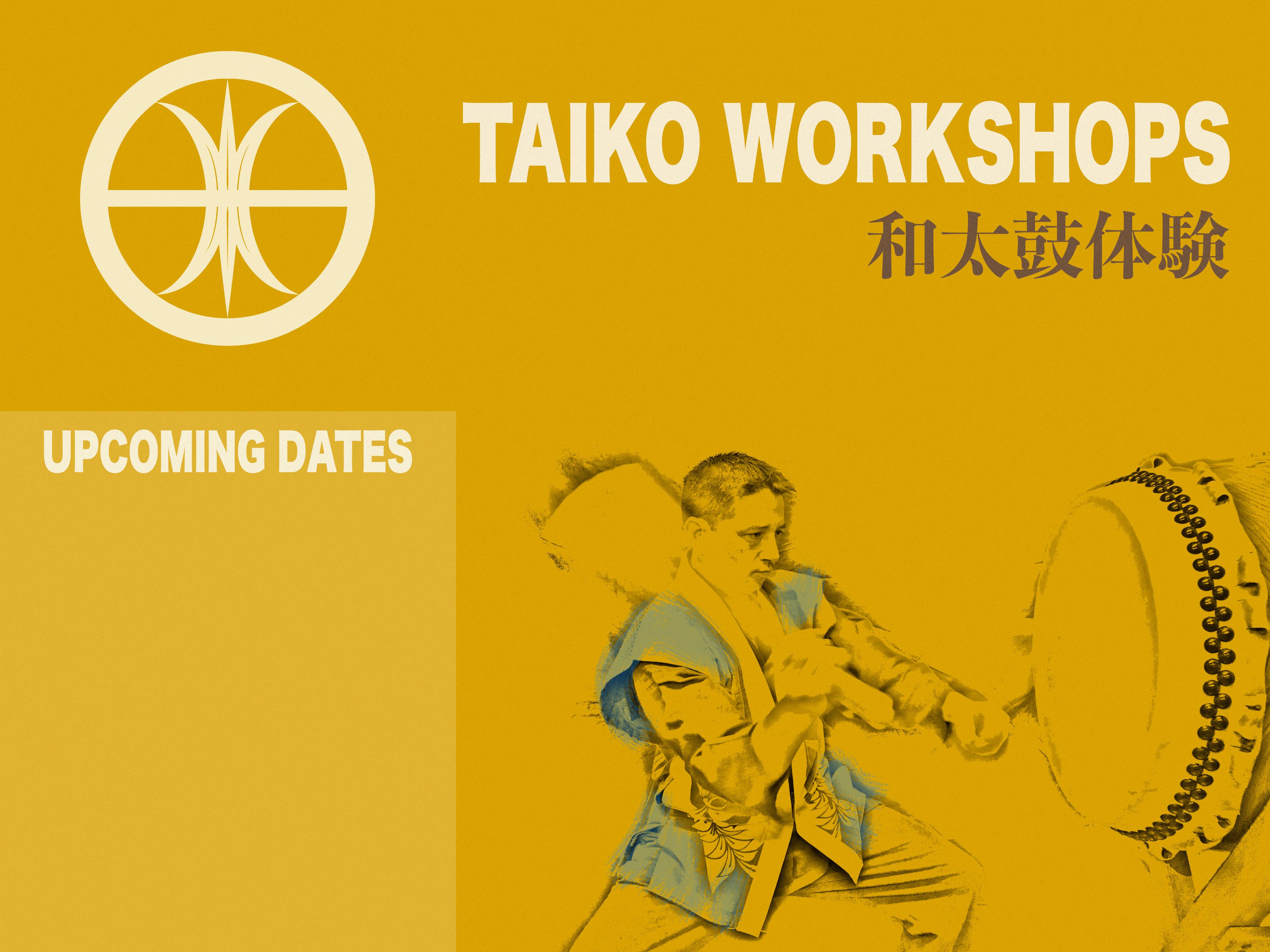 Beginners introductory Taiko workshop