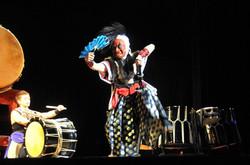 Kudaka Tetsuya taiko performance