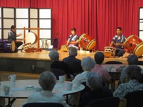 Performing taiko in Toronto