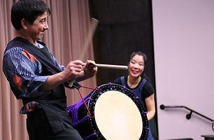 Performing taiko in Ottawa