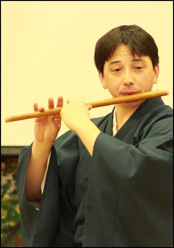 Kokichi Kusano Shinobue Japanese flute