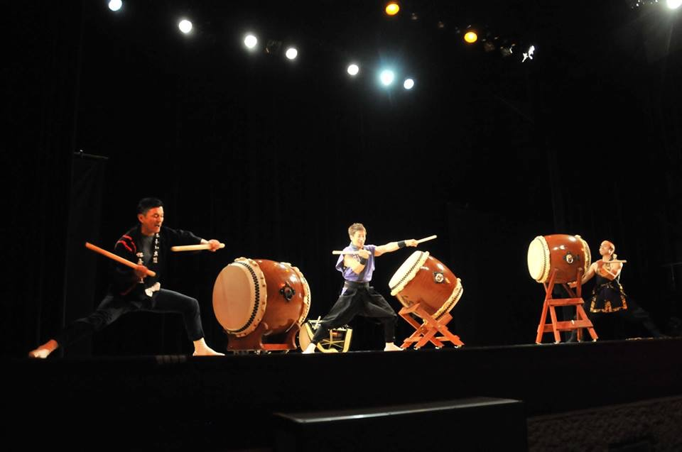 Taiko concert in Japan