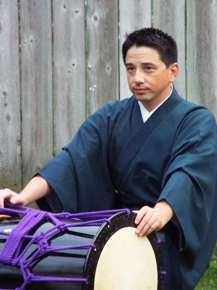 Kokichi Kusano Taiko drummer and Japanese music artist