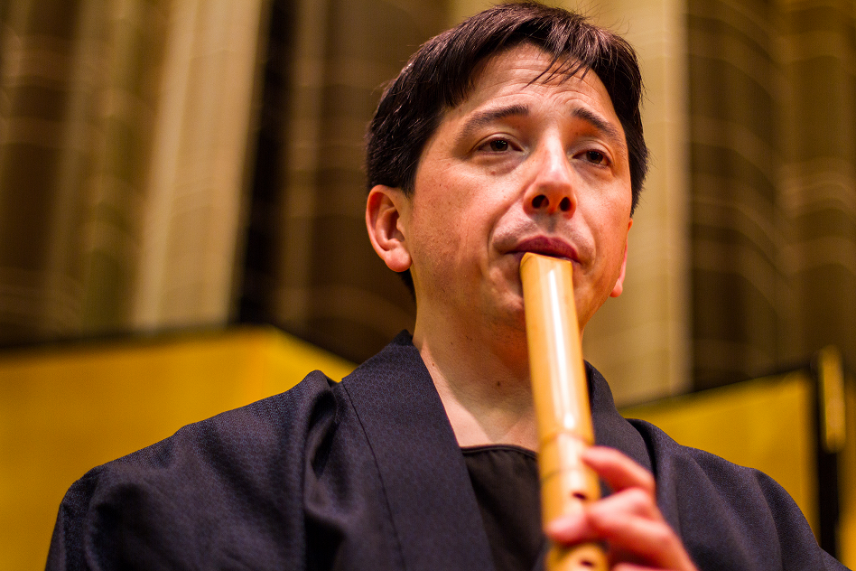 Shakuhachi performance in Ottawa
