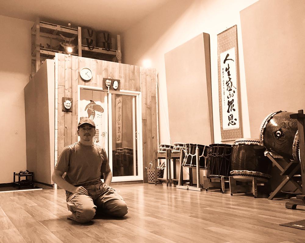 Kokichi at the NAE Studio