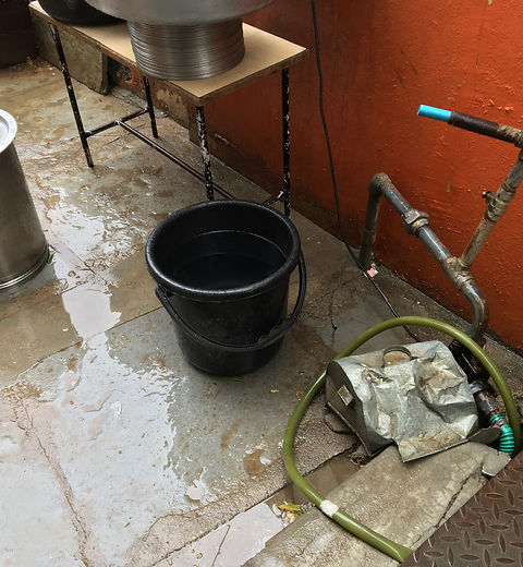 Water Pump & storage buckets.JPG