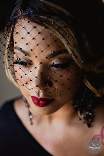Black Bride by Doranna Makeup Team in Mexico.