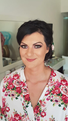Playa del Carmen Wedding Makeup by Doran