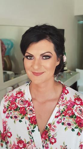Playa del Carmen Wedding Makeup by Doran