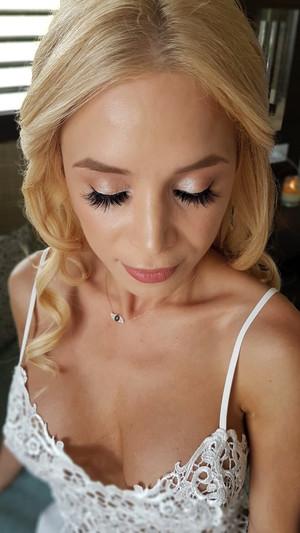 Natural bridal makeup by Doranna Hair &
