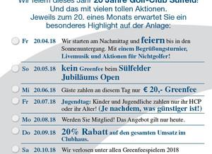 20 Jahre Golf-Club Sülfeld