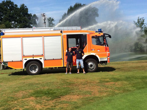 Sülfelder Feuerwehr rettet unsere Fische