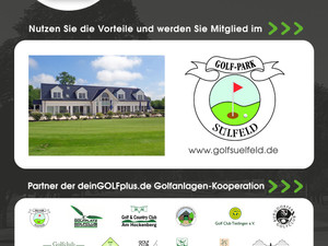 """Golfplatz Sülfeld ist dem """"deinGOLF+++"""" Zusammenschluss beigetreten!"""