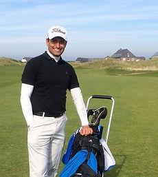 Head-Pro Sebastian Frühwald. Der Golf-Park Sülfeld liegt nur etwa 20 Minuten nördlich von Hamburg.