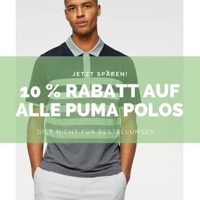 Puma Aktion im Golf Shop Sülfeld