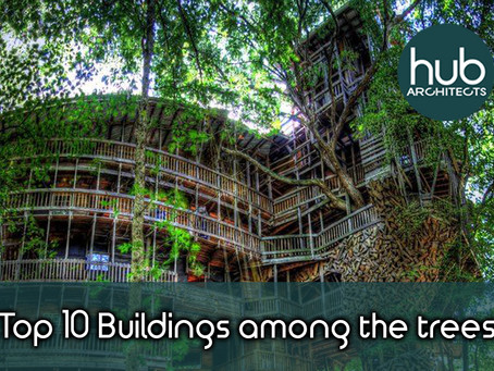 Top Ten Buildings Among the trees