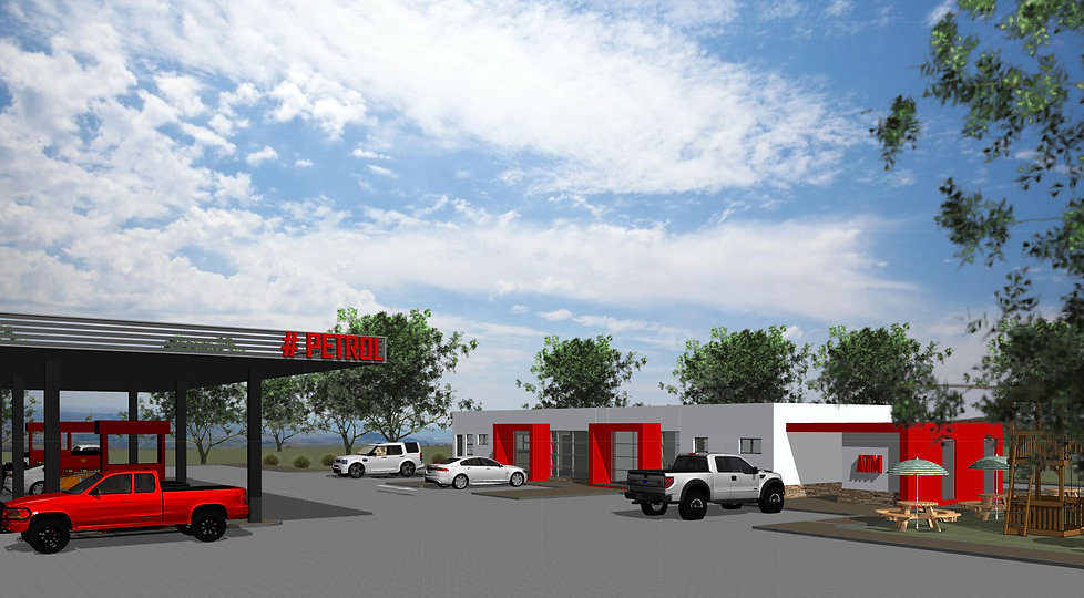 Maputsoe is a concept design of a Service Station/ Petrol Station located in Maputsoe, Lesotho