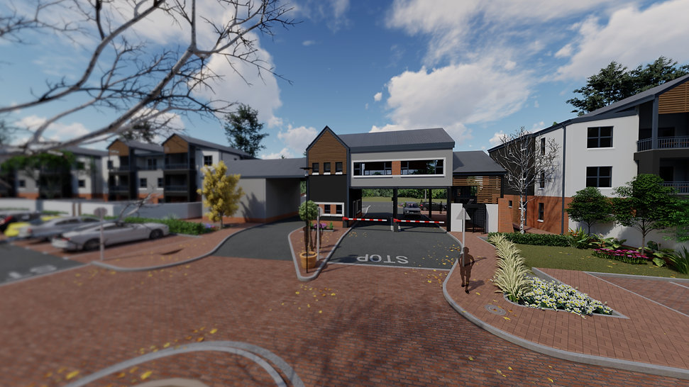 Crowthorne is a concept design of a residential development designed Hub Architects and is located in Crowthorne, Johannesburg, South Africa