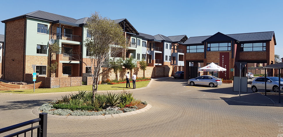 Residential Housing Estate by architect: Hub Architects and is located in Johannesburg.