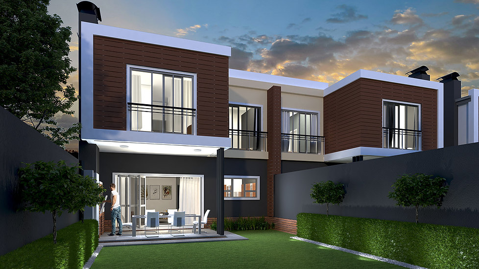 Urban Tana is a ultra-modern residential development designed by Hub Architects and is located in Sunninghill, Johannesburg, South Africa