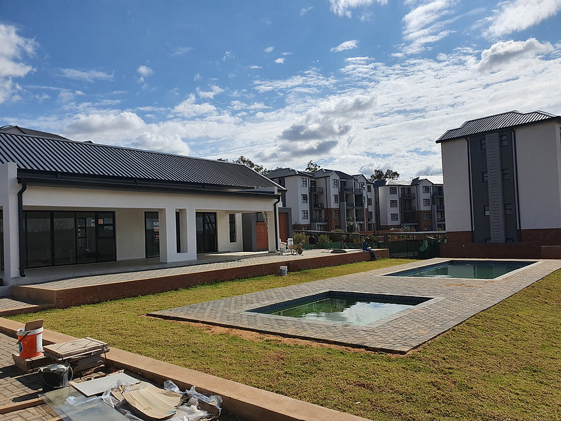 Urban Housing Estate by architect: Hub Architects and is located in Pretoria.