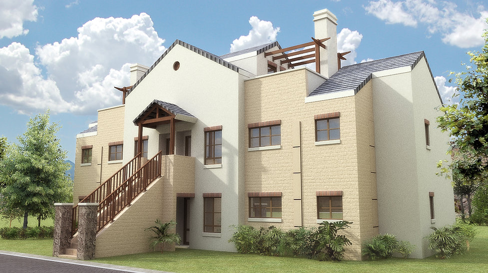 Homes Haven is a concept design of a residential development designed by Hub Architects and is located in Mogale City