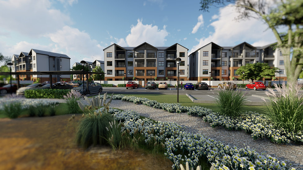 The Aura is a residential development located in Northgate, Randburg, Johannesburg, South Africa
