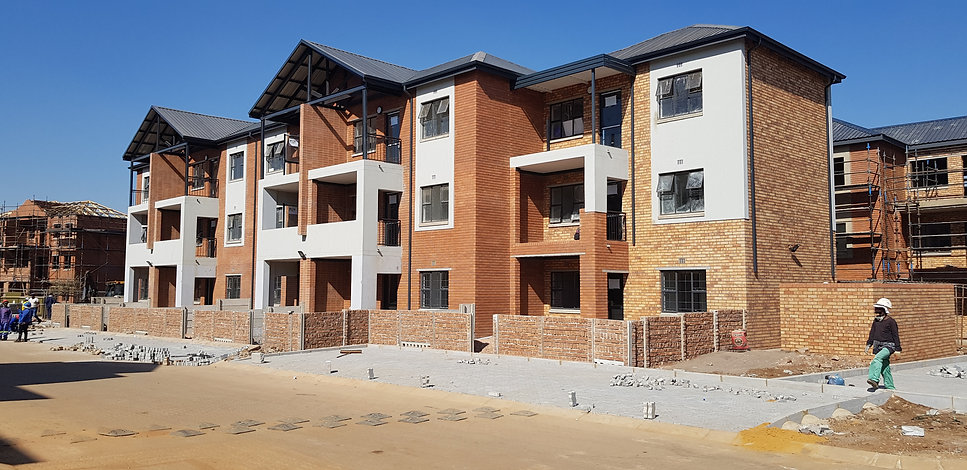 Urban Housing Estate by architect: Hub Architects and is located in Johannesburg.
