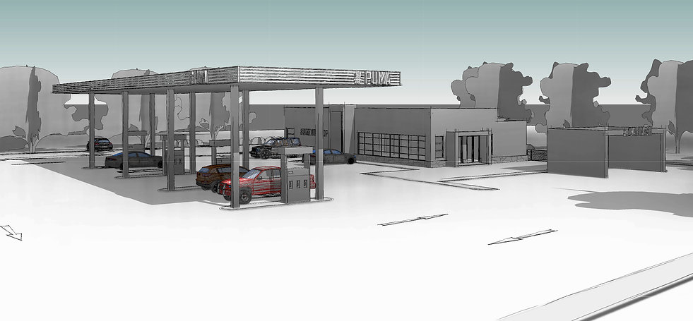 Maputsoe Service Station is a concept design of a Service Station/ Petrol Station located in Maputsoe, Lesotho