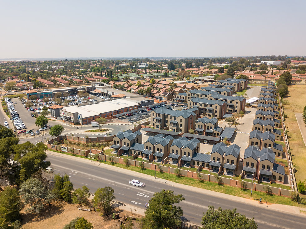 The Parks Apartments is a residential development designed by Hub Architects and is located in Kempton Park, South Africa