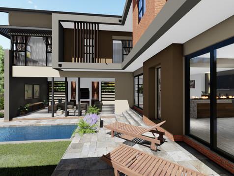 Waterfall Luxury House