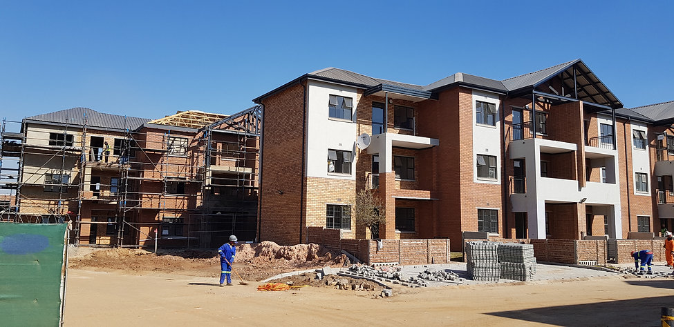 Urban Estate development by architect: Hub Architects and is located in Johannesburg.