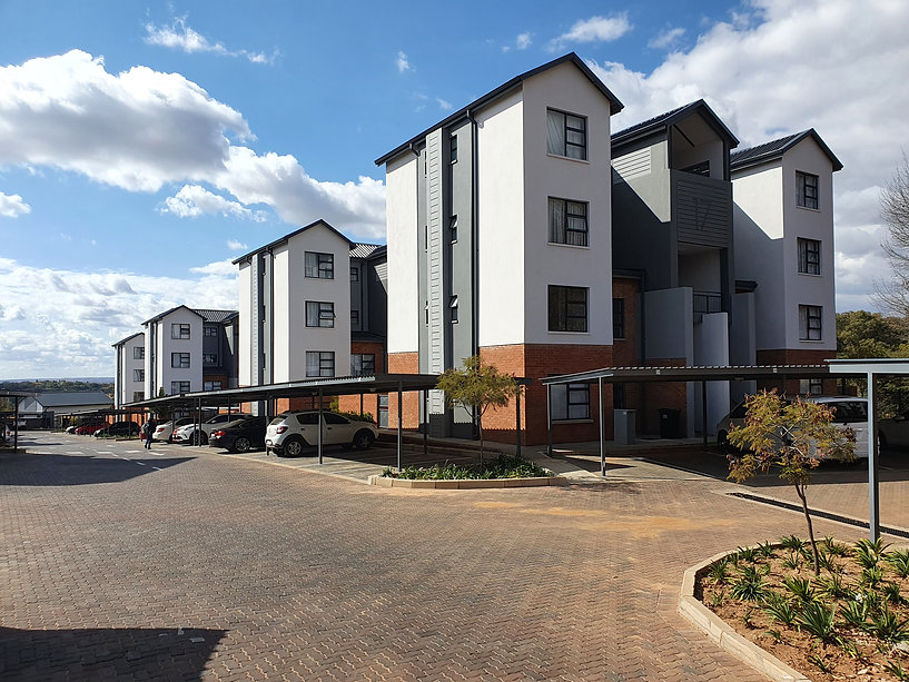 Residential sectional title by architect: Hub Architects and is located in Pretoria.