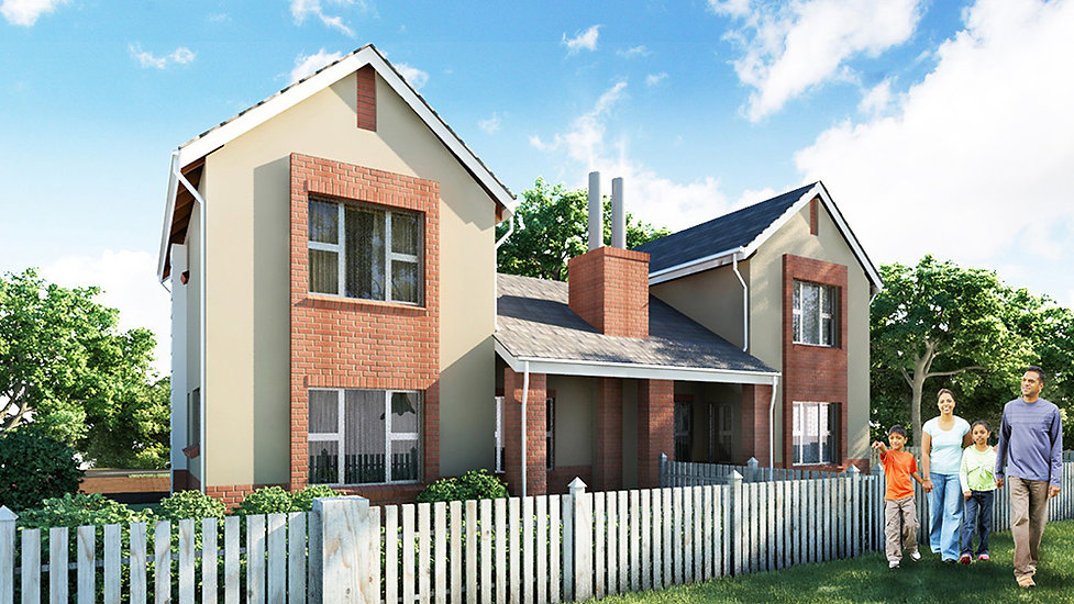 Low Density modern residential Estate known as Elawini Lifestyle Estate is a residential development designed by Hub Architects and is located in Nelspruit, South Africa