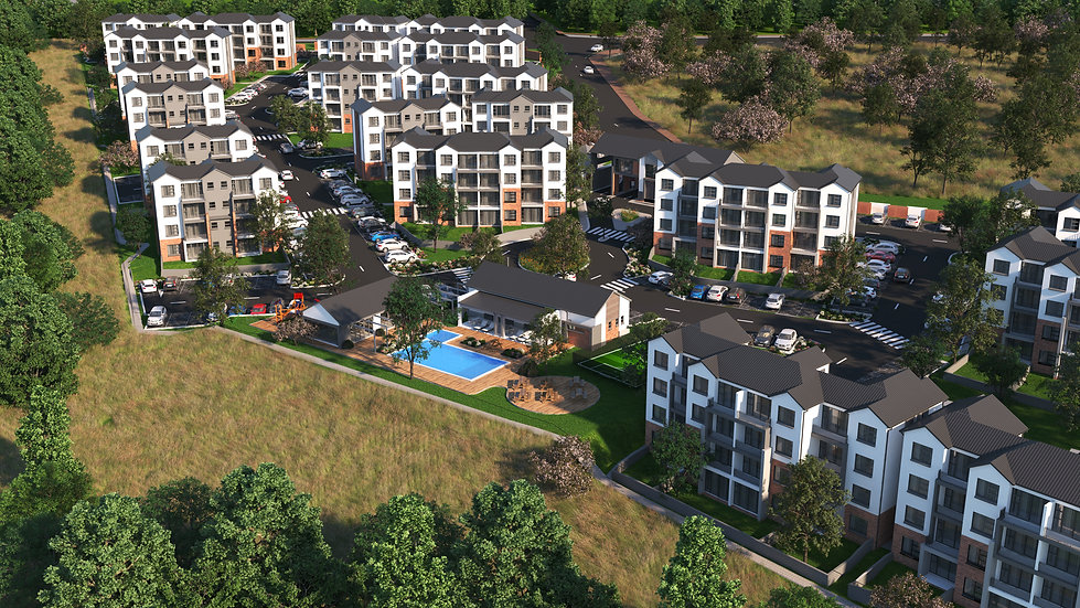 Lombardy Meander is a residential development designed by Hub Architects and is located in Pretoria East, Lombardy, South Africa