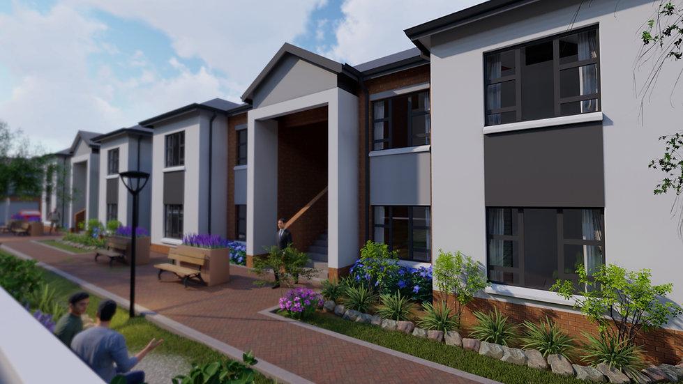 Broadacres, Concept for a Estate Development/ housing project in Johannesburg