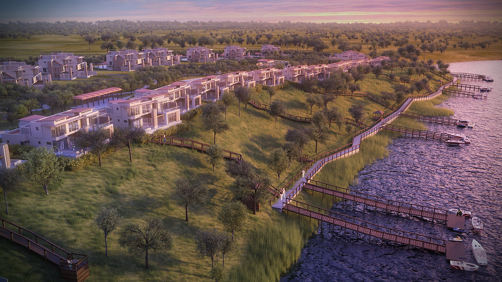 Residential Luxurious Resort designed by Hub Architects and is located by the Vaal River, Gauteng, South Africa